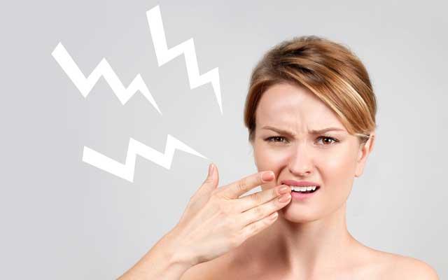 دندان های حساس یا حساسیت دندانی