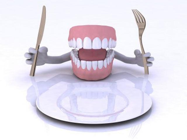 غذا خوردن با پروتز دندان