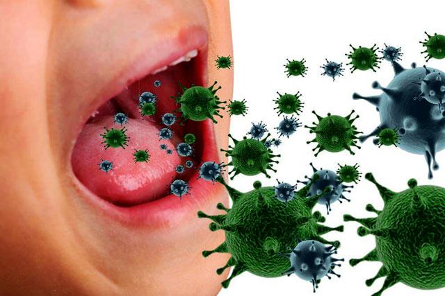 بوی بد دهان ناشی از عفونت معده