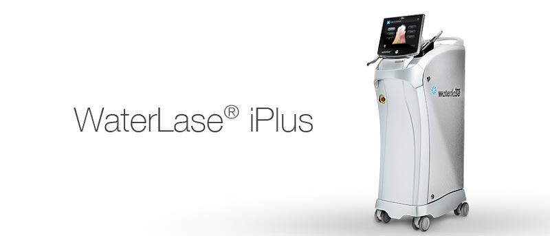استفاده از دستگاه پیشرفته لیزر WaterLase iPlus