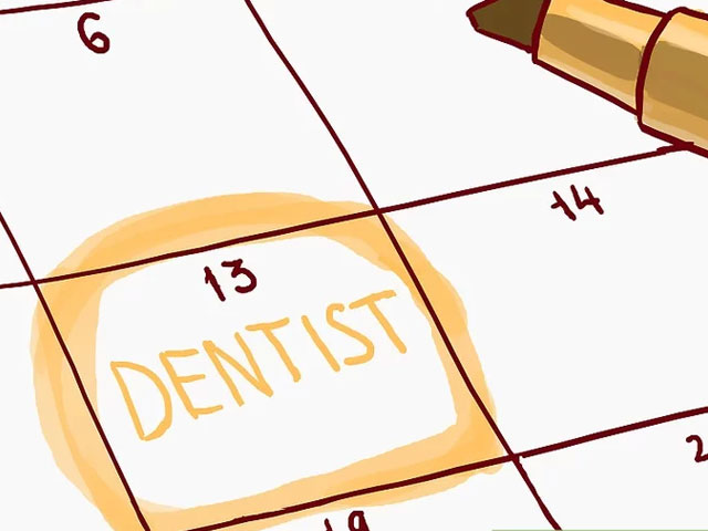 مراجعه به دندانپزشکی برای بررسی شکستگی دندان