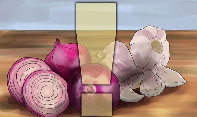 پرهیز از خوردن سیر و پیاز