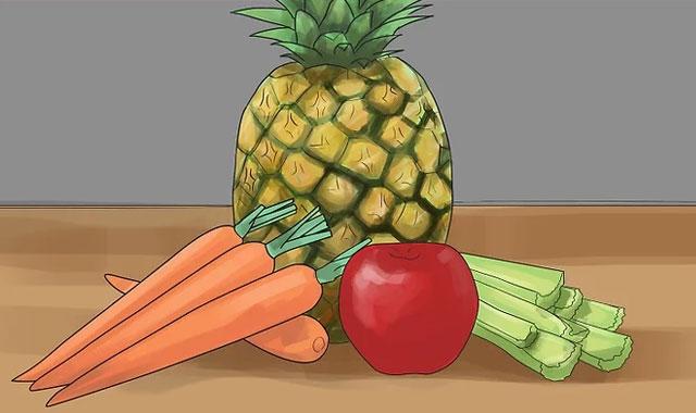 خوشبو کردن دهان با میوه و سبزیجات