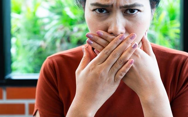 هالیتوفوبیا ترس از بوی بد دهان