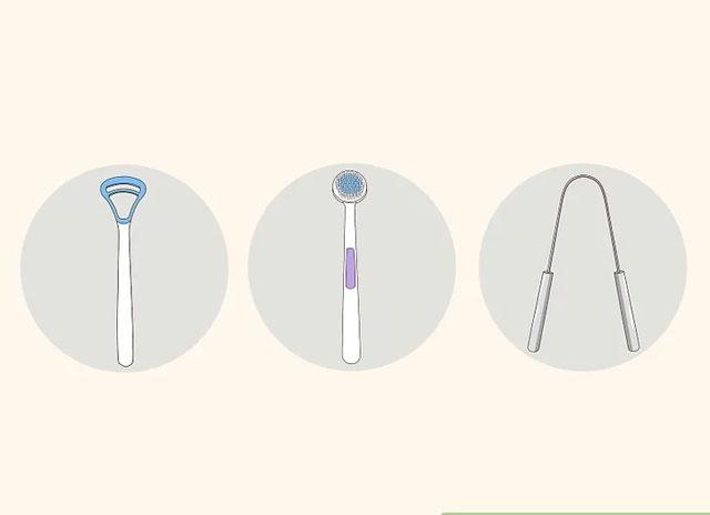 انتخاب ابزار مناسب برای تمیز کردن زبان